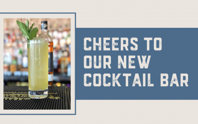 Cheers to Our New Cocktail Bar